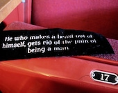 He Who Makes a Beast of Himself - Dr. Johnson patch