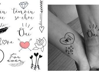 Tattoo temporary marriage