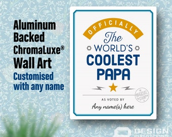 papa gift for new papa birthday gift for papa papa to be papa print picture frame personalized and delivered direct to your door
