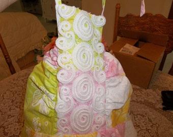 Lily Pulitzer Summer  SundressDress, Sun Dress size 8, Halter Dress, Lily Sundress