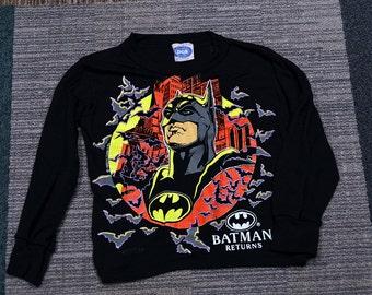 Batman Returns Pajama Top - Size 4-5