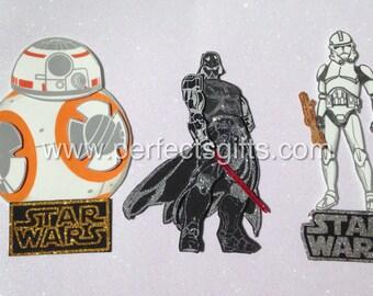StarWars 12 pieces Party Centerpiece Picks, Star Wars Birthday Party Decoration.