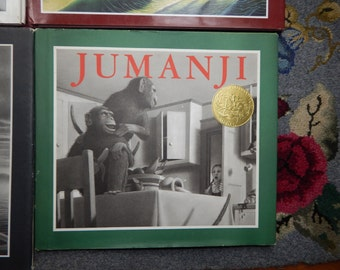 jumanji by chris van allsburg book review I will concentrate on the movies for this column, as—to date—i've never managed to read a single book by chris van allsburg (figure 1), although i remember that when my wife (the beautiful & talented lynne taylor fahnestalk) was working at greenwoods' bookstore on whyte avenue in edmonton.