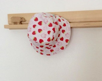 Scented Strawberry Baby and Childrens Summer Bucket Hat