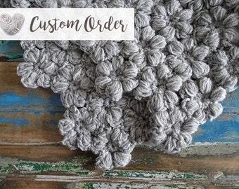 Crochet Baby Blanket - Chunky Baby Blanket - Baby Throw Blanket - Uncinetto - Couverture Bébé - крючком одеяло - Preemie Baby Blanket