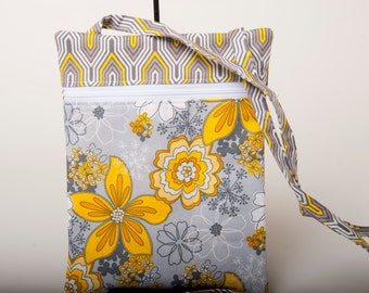 Crossover Side Strap Travel Bag - Perfect size for iPad Mini