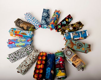 Pencil Pouch for boys - Makes a great stocking stuffer!