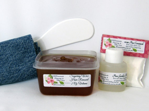 Sugaring Wax Hair Removal for Thinner Hair 2 Oz