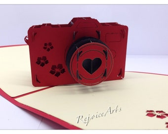 3D Pop Up Camera Card