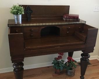 SOLD Large Wood Desk