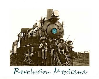 Mexican Revolution I – Digital Download – Pdf format A3 Cm 30X42 Inches 11.7 × 16.5