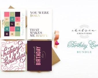 Birthday Card Bundle