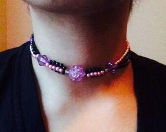 Purple and Pink Gem