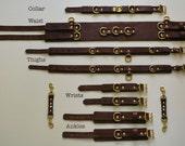 BDSM Complete Leather Bondage Set