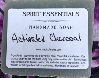 Activated Charcoal Handmade Soap