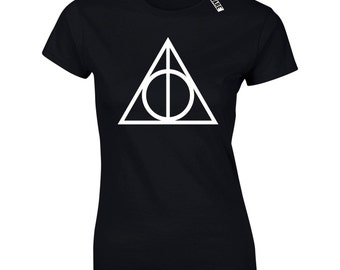 Ladies Deathly Hallows T-Shirt