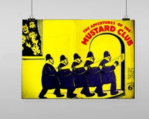 Colmans Mustard Club - Vintage Reproduction Wall Art Decro Decor Poster Print Any size