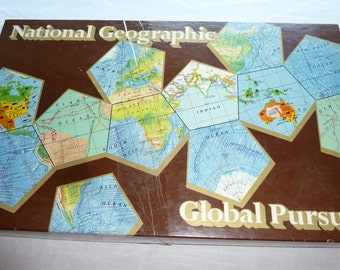 Vintage game Global Pursuit