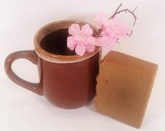 Coffee Soap, Mocha Soap, cocoa soap, natural soap, organic soap, natural soap, handmade soap, cold process soap, soap, organic soap