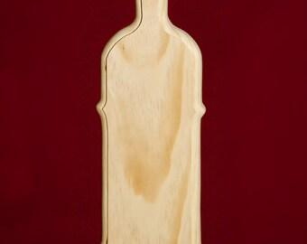 "Traditional Sorority/Fraternity Greek Paddle - Scalloped edge design 21"" long"