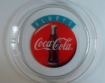 1993 Always Coca-Cola Glass Serving Plate