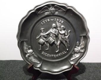 1776-1976 Bicentennial Plate