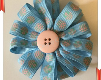 Cupcakes Loopy Barrette