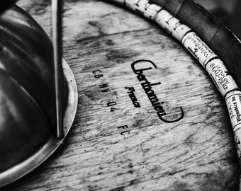 Rustic Kitchen Decor, Wine Tasting Print, Rustic Wall Decor, Dining Room Wall Art, Black and White Photography, Winery Art Photos