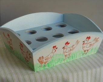 Chicken design Egg Tray/Holder/Storage
