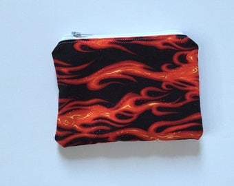 Flames Reusable snack bag, sandwich bag etc...