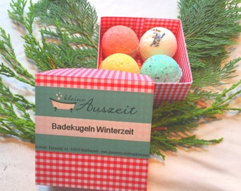 Bath Balls / Bath Pearls Wintertime