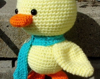 Amigurumi Crochet Duckling