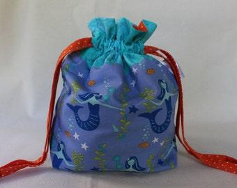 Preening Mermaids Project Bag