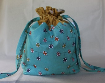 Pinwheels Project Bag