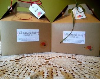 All Natural Baby Starter Kit