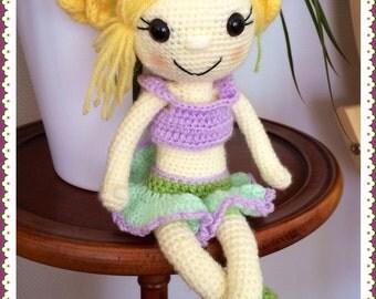 Miss Malice : poupée en crochet