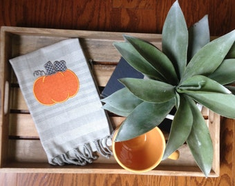 Pumpkin Pie Dishtowels