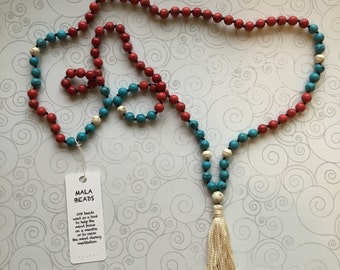 mala necklace for relaxing