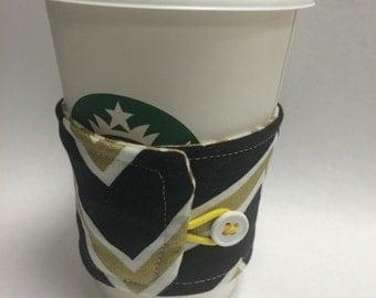 coffee cozy, Mizzou Coffee and tea cup cozy