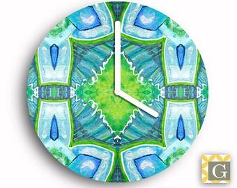 Wall Clock by GABBYClocks -  Abstract Painting No. 1