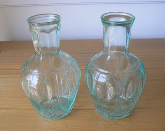Great Pair of Water Carafes from the 1950s.