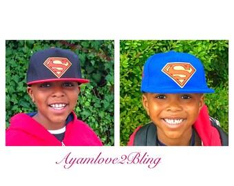 Superman Snapback hats