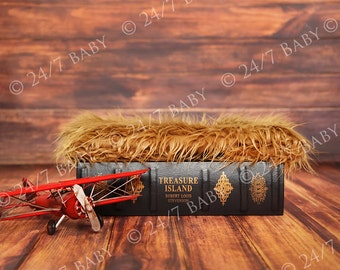 Digital Photography Backdrop Instant Download Newborn Baby Photography Vintage Treasure Island Book Studio Boy Theme Prop