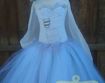 Tim burton dress etsy for Corpse bride wedding dress for sale