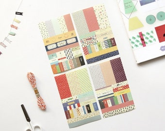 Planner Diary Deco Sticker Pack 8 Sheets - Petit Deco Planner Sticker 8 Sheets VER4