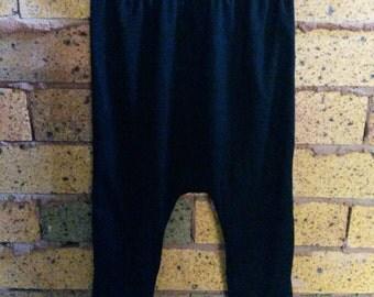 100% Merino Wool Drop Crotch Pants 10 colours