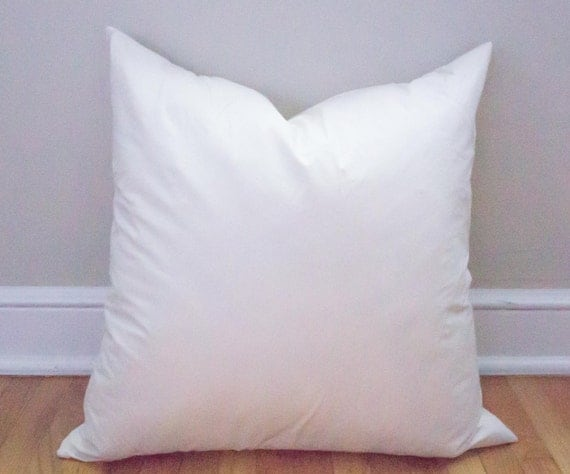 Throw Pillow Insert : 20x20 Pillow Insert Feather Insert Throw Pillows Pillows