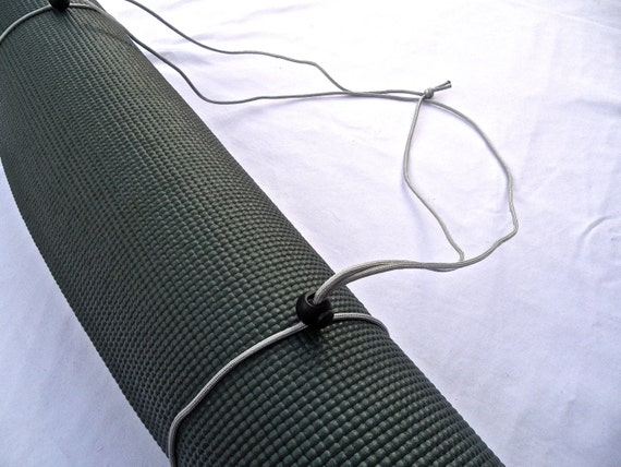 3N1 Yoga Mat Strap, FREE SHIPPING On All U.S. Orders- Ice Grey- Yoga Mat Sling, Yoga Mat Carrier, Yoga Mat Holder, Yoga Mat Tote