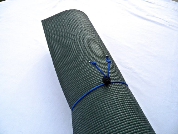 Mini Yoga Mat Tie- Sky Blue- FREE SHIPPING on All U.S. Orders, Yoga Mat Holder, Yoga Mat Carrier, Yoga Mat Strap, Yoga Accessories