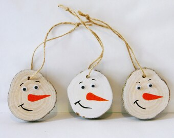 Wooden christmas tree ornaments christmas decorations